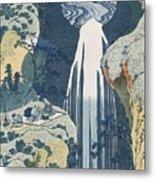 Amida Waterfall Metal Print