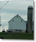 Amish Dairy Farm Metal Print