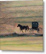 Amish Dream Metal Print