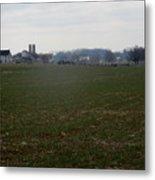 Amish Homestead 166 Metal Print