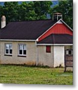 Amish School In Rote, Pa Metal Print