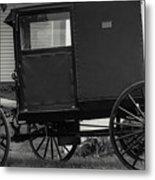 Amish Wagon _pa Metal Print
