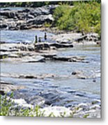 Ammonoosuc Sculptures Metal Print