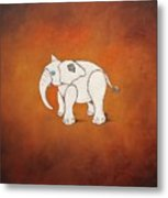 Amnimal Elephant Metal Print