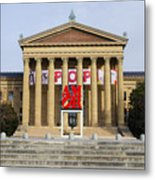 Amore - The Philadelphia Museum Of Art Metal Print