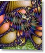 Amphipod Metal Print