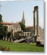 Amphitheater Ruins - Arles - France Metal Print