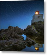 Amphitrite Point Lighthouse Metal Print