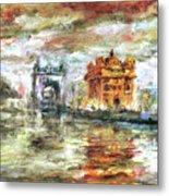 Amritsar Palace Metal Print
