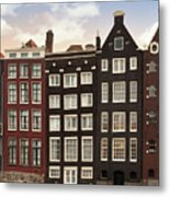 Amsterdam Architectre At Twilight Metal Print