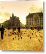 Amsterdam City Metal Print