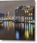 Amsterdam Colors Metal Print