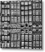 Amsterdam Reflections Metal Print