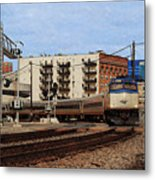 Amtrak 90413 Metal Print