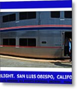 Amtrak San Luis Obispo Metal Print