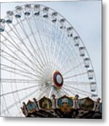 Amusement 17 Metal Print