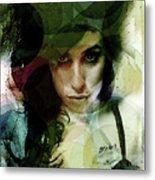 Amy Whirls  Metal Print