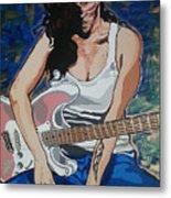 Amy Winehouse Metal Print