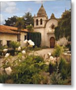 Amy's Carmel Metal Print by Sharon Foster