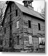An Abandoned Mill Metal Print