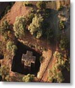 An Aerial View Of Beta Metal Print