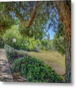 An Afternoon Stroll Metal Print