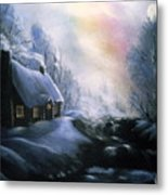An Alaskan Night Metal Print