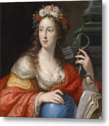 An Allegory Of Intelligence Metal Print