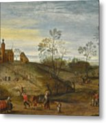 An Allegory Of Spring Metal Print