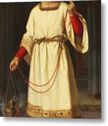 An Altar Boy Metal Print by Abraham Solomon