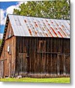 An American Barn 2 Metal Print