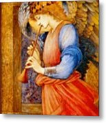 An Angel Playing A Flageolet Metal Print