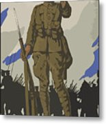 An Appeal To You Metal Print by War Is Hell Store