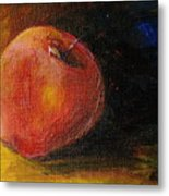 An Apple - A Solitude Metal Print