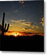 An Arizona Sunrise  Metal Print