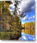 An Autumn Day At Woodcraft Camp Metal Print