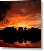 An Awesome Sunset  Metal Print