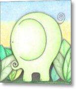 An Elephant For Erin Metal Print