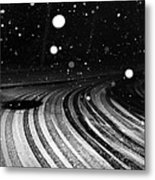 an English winter - number I Metal Print