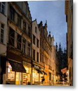 An Evening In Brussels Metal Print