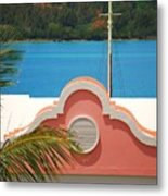 An Eye Brow Roof At Grotto Bay Metal Print