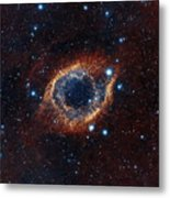 A Look In Infrared At The Helix Nebula Metal Print