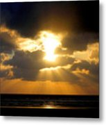 An Inspiring Evening Metal Print