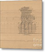 An Interesting Romanesque Treatment, San Giovanni, Pistoia Metal Print