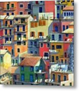 An Italian Village Metal Print