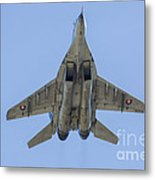 An Mig-29as Fulcrum Of The Slovak Air Metal Print