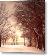An Okanagan Winter Metal Print