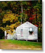 An Old Abandoned House Metal Print