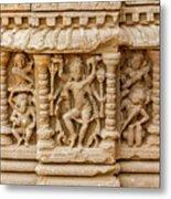 An Old Carving Of Shiva At Abhaneri Metal Print