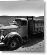 An Old Clunker Metal Print